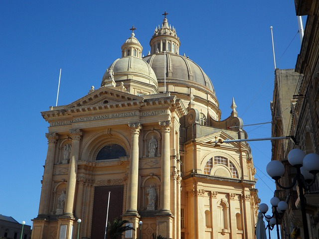 Dome Church, Dome, Gozo, Church, Church Dome, Sky