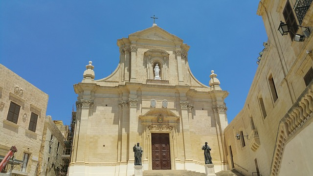 Gozo, Island, Church, Malta