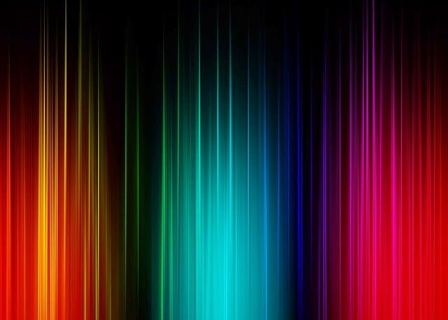 Spectrum, Psychedelic, Green, Gradient, Structure