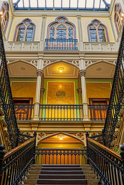 Stairs, Staircase, Architecture, Level, Gradually