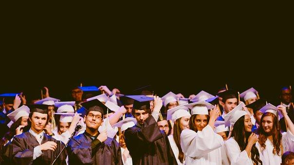 People, Men, Women, Graduation, School, University
