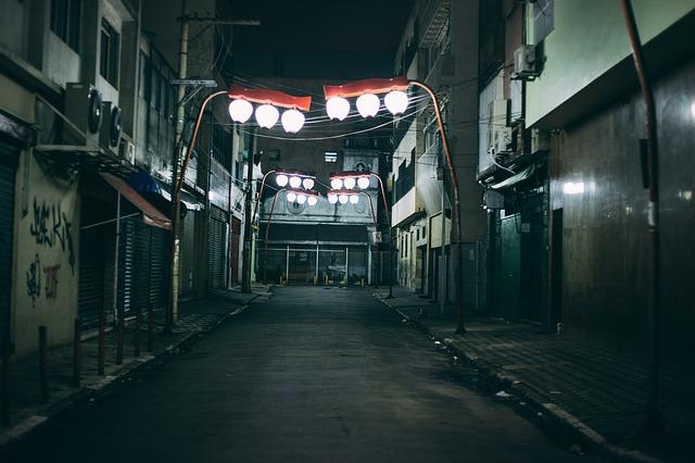 Alley, Street, Road, City, Urban, Sidewalk, Graffiti