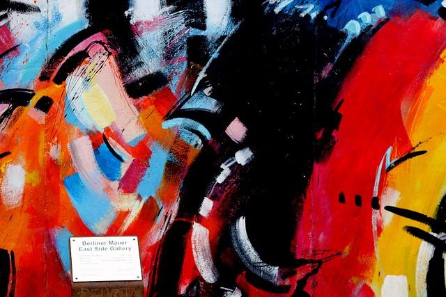 Berlin Wall, Art, Graffiti, Berlin, Fragment