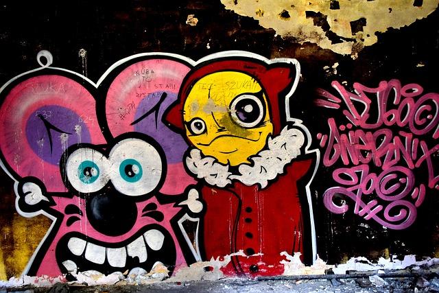 Graffiti, Mouse, Katowice, Modern Art