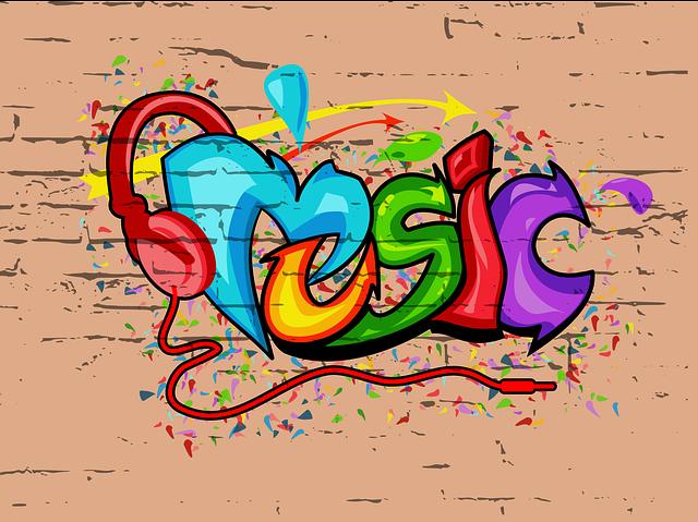 Graffiti, Music, Urban Art