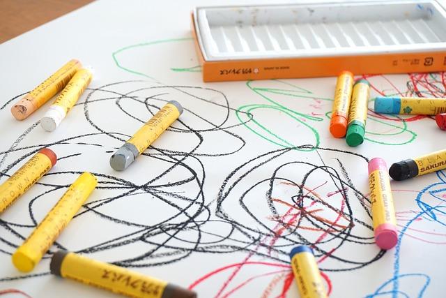 Crayon, Graffiti, Drawing, Parenting, Color, Oekaki