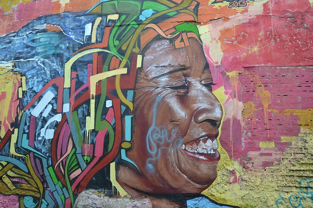Face, Colombia, Colombian, South America, Graffiti