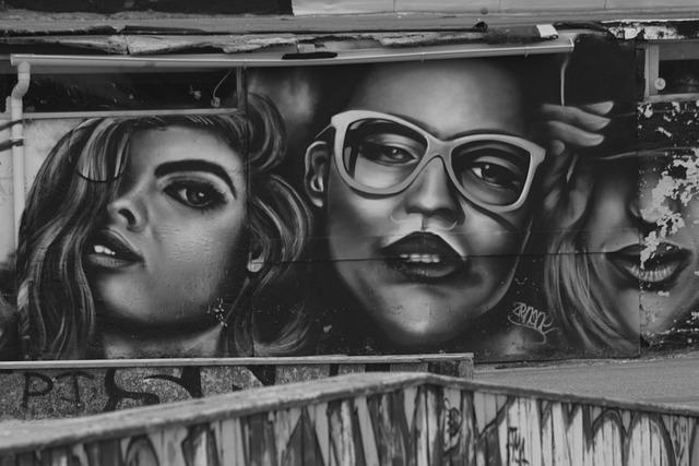 Drawing, Wall, Street Art, Graffiti, Seignosse, Beaches