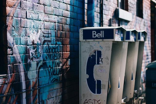 Art, Brick Wall, City, Graffiti, Payphones, Street