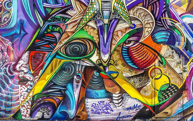Graffiti, Background, Grunge, Street Art, Graffiti Wall