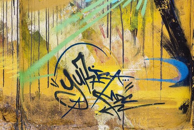 Background, Graffiti, Grunge, Street Art, Graffiti Wall