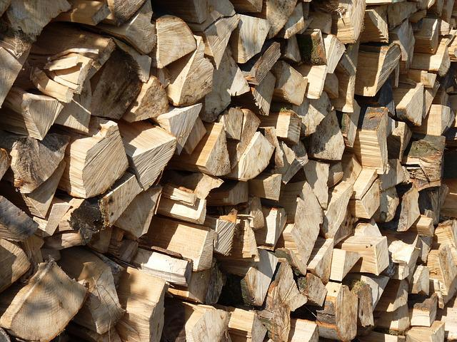 Wood, Stack, Holzstapel, Hardwood, Grain, Firewood