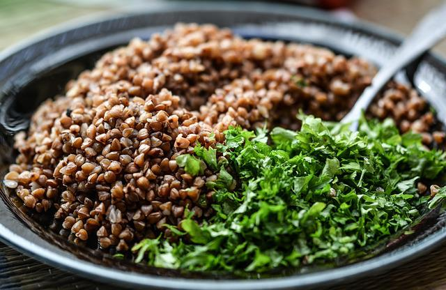 Groats, Meal, Herbs, Food, Vegetarian, Grain, Bowl