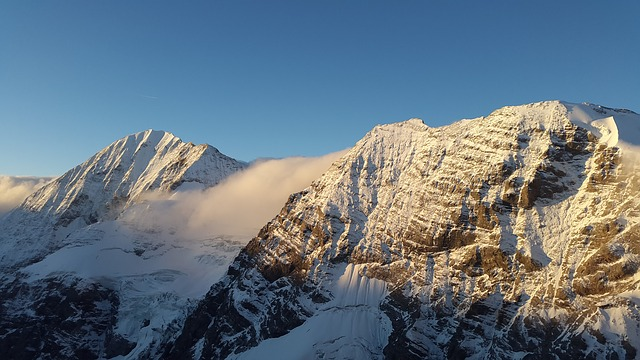 Königsspitze, Sunrise, Mountains, Gran Zebru