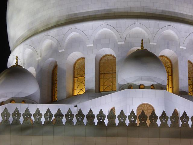 Grand, Mosque, Abu Dhabi