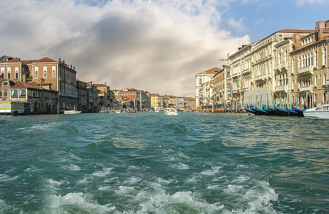 Venice, Boat, Ride, Venezia, Canal, Grand, Buildings