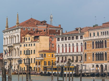 Venice, Italy, Architecture, Grand Canal, Europe, Water