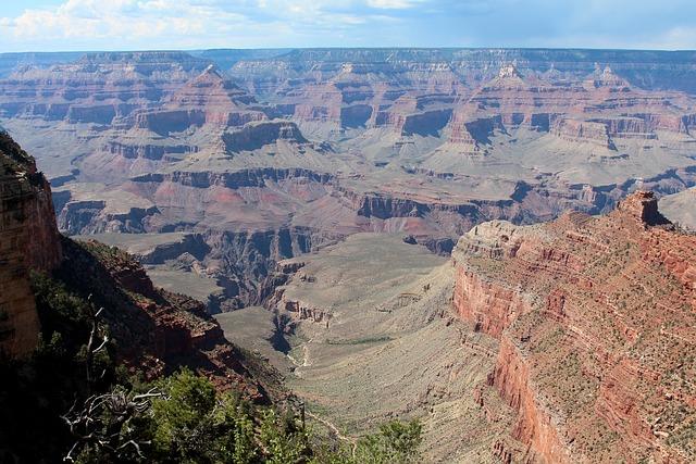 Grand Canyon, Arizona, Park, Landscape, National