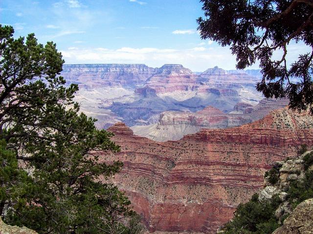 Journey, Grand Canyon, Summer, Colorado, Mountains