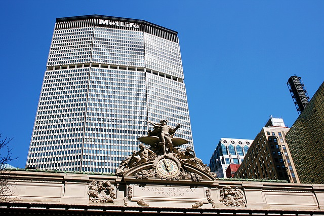 Met Life Building, Nyc, Grand Central Station, New York