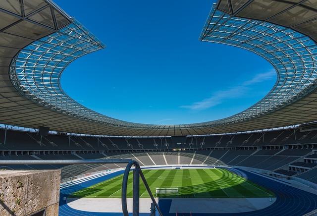 Stadium, Grandstand, Empty, Architecture, Sport