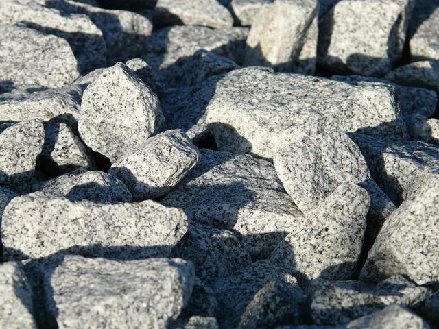 Granite Stones, Stones, Granite, Gabionensteine