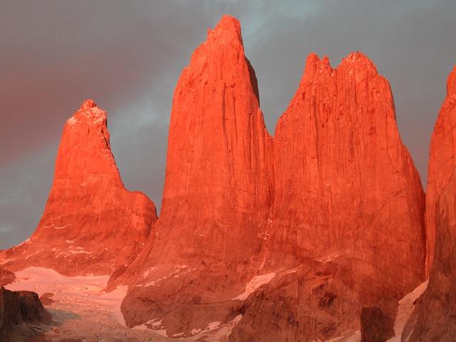 Torres Del Paine, Mountains, Granite, Granite Rock