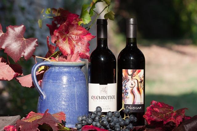 Wine, Bottle, Label, Grape, Leaf, Wine Harvest, Plant