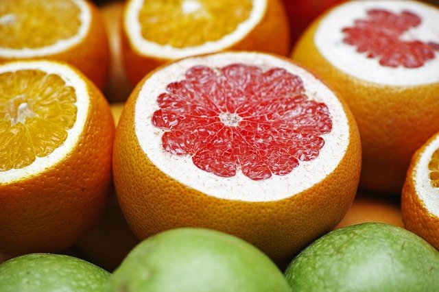 Grapefruit, Oranges, Fruit, Healthy, Nourishment, Diet