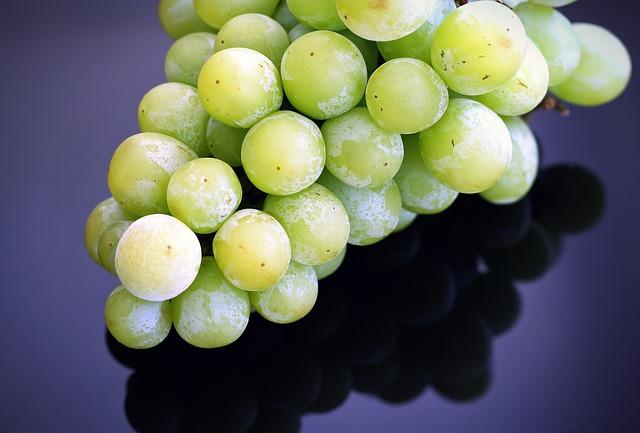 Grapes, Frozen Fruit, Summer, Organic, Fresh, Healthy
