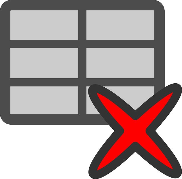 Document, Table, Graph, Data, Blank, Crosshatch, Delete