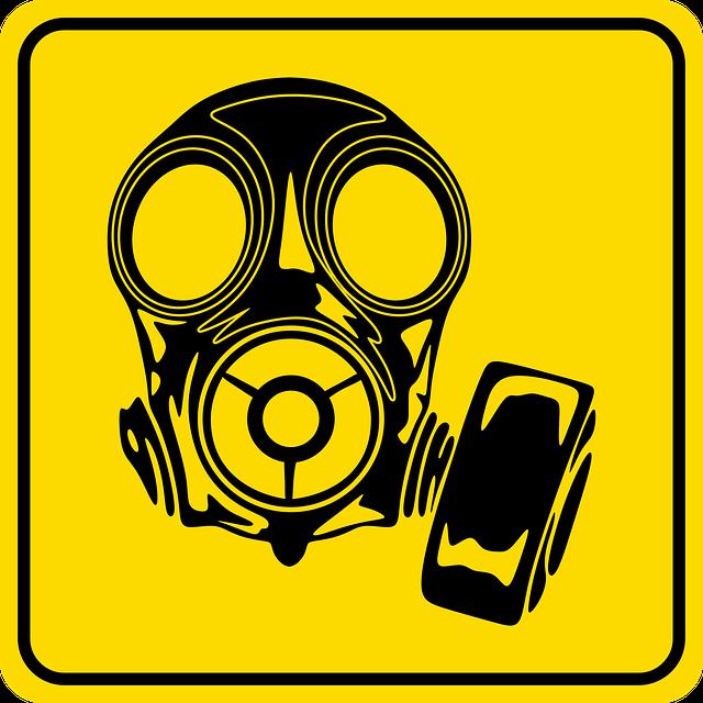 Image, Sign, Danger, Safety, Graphic, Mask, Gasmask