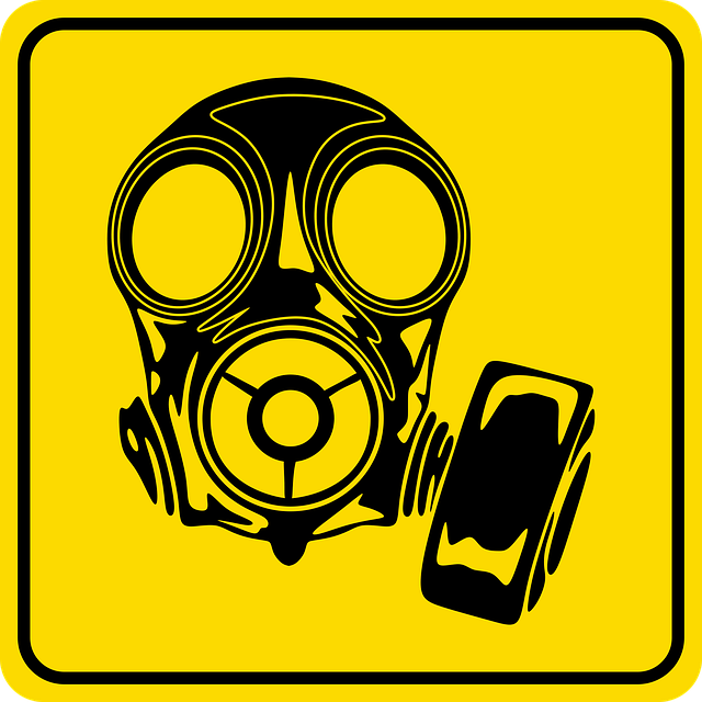 Image, Sign, Danger, Safety, Graphic, Mask, Gasmask