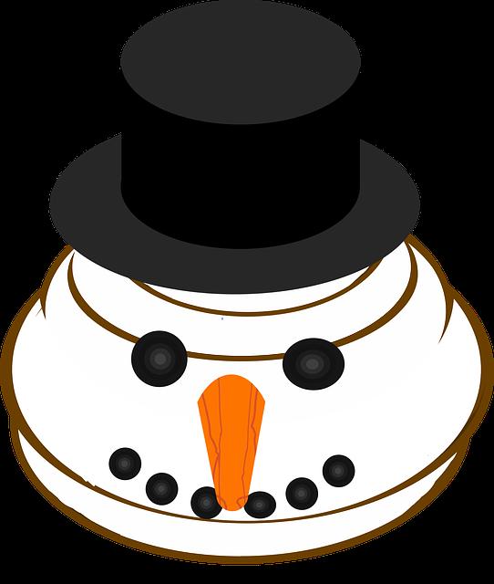 Graphic, Snowman Emoji, Emoticon, Smiley