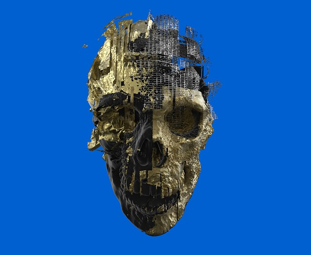 Skeleton, Skull, 3d, Scull, Yamo, Graphics