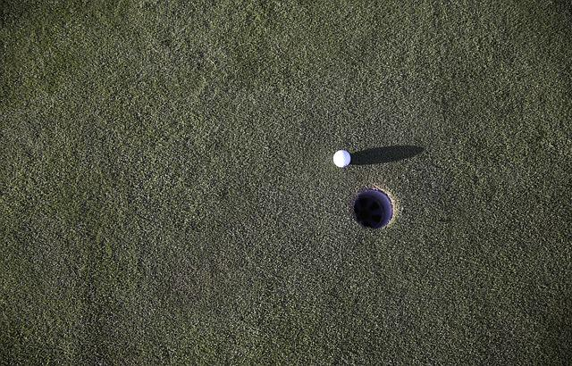 Ball, Golf, Golf Ball, Golf Course, Grass, Green, Hole