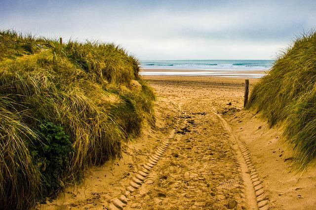 Nature, Sky, Landscape, Sand, Travel, Grass