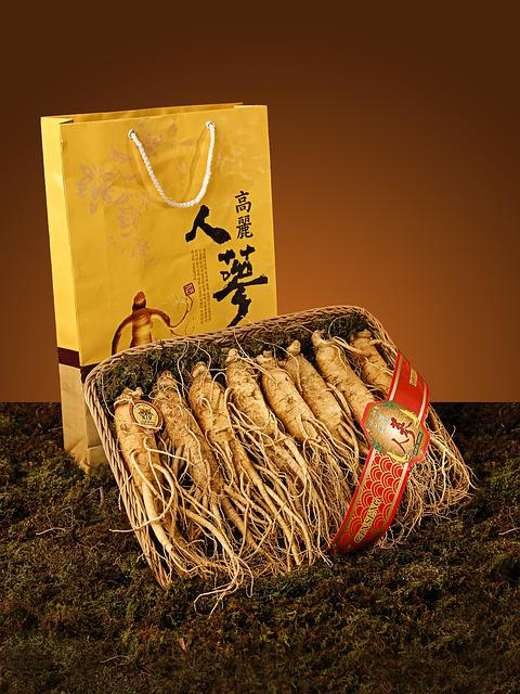 Ginseng, Product, Yellow, Grass