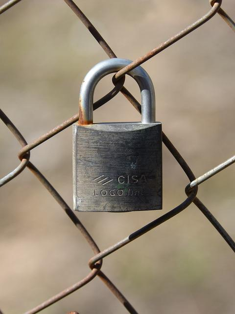 Padlock, Grating, Symbol, Metaphor, Closed, Forbidden