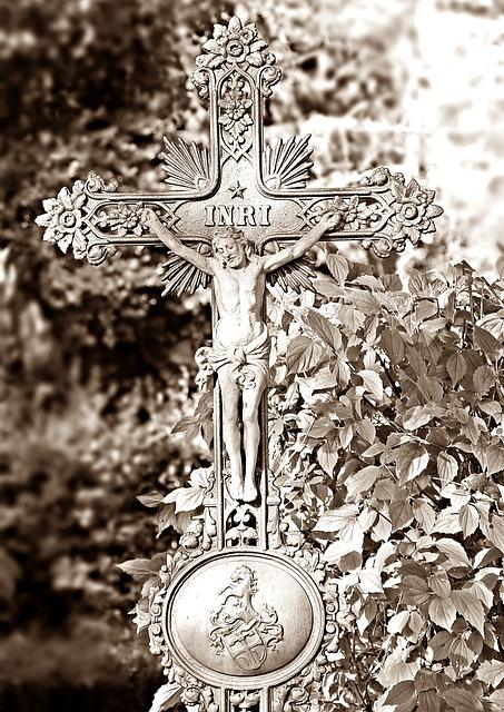 Cemetery, Cross, Grave, Mourning, Faith, Death