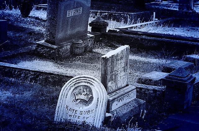 Head Stone, Grave, Cemetery, Broken, History, Graveyard