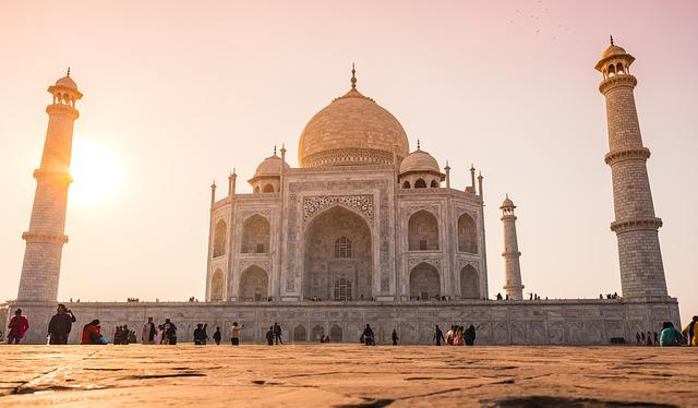 India, Taj-mahal, Agra, Mausoleum, Grave, Temple, Tomb
