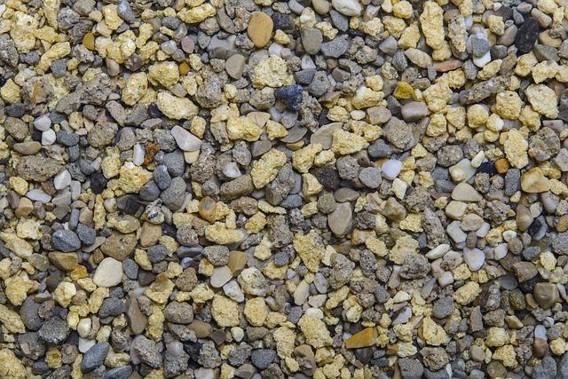 Sand, Gravel, Grain, Beige, Grey, Texture