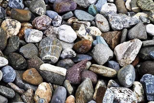 Stone, Rock, Texture, Nature, Closeup, Gravel, Model