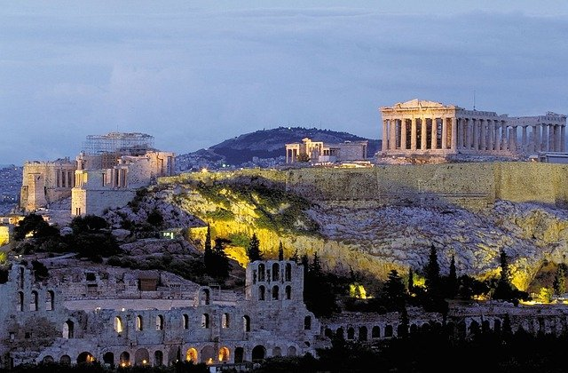 Acropolis, Parthenon, Athens, Greece, Olympic, Games