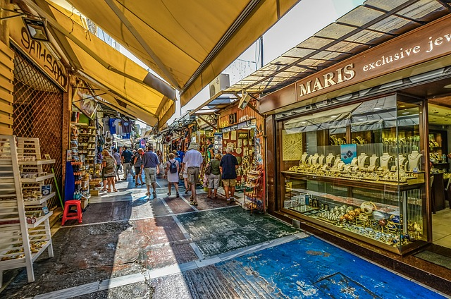 Athens, Athenian, Greek, Greece, Market, Outdoor
