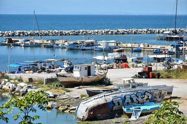 Greece, Thessaloniki, City, Europe, Travel, Boats