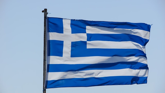Greece, Country, Nation, Greek, Flag, Waving, Europe