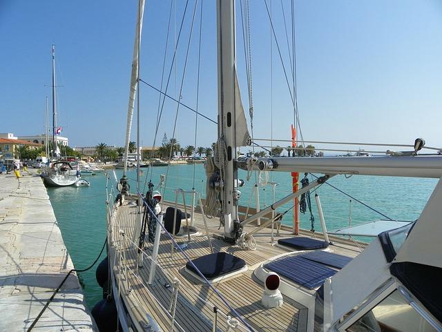 Zakhyntos City, Port, Fishing Vessel, Greece
