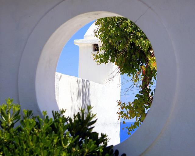 Greece, Architecture, Sky, Nature, Tree, Home